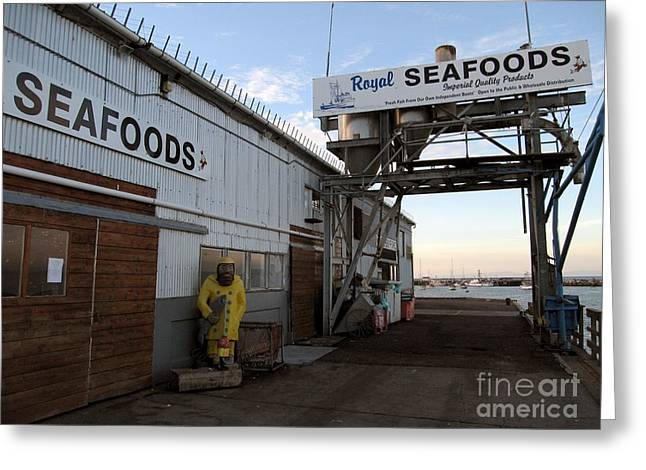 Royal Seafoods Monterey Greeting Card