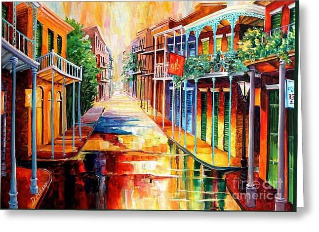 Royal Street Reflections Greeting Card