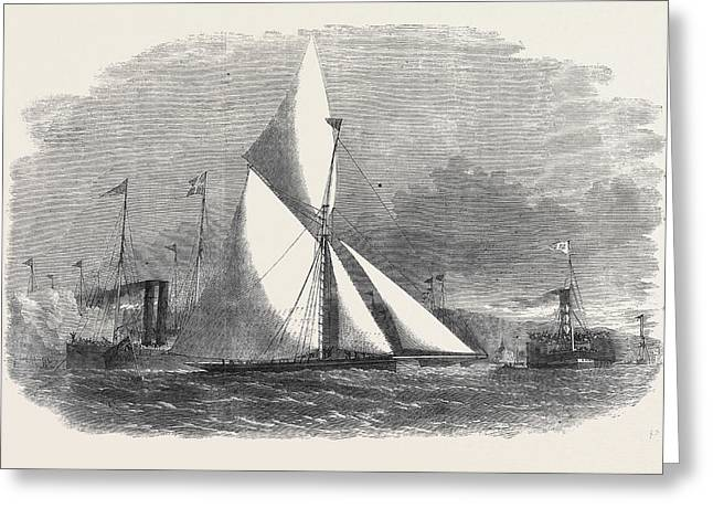 Royal Thames Yacht Club Match The Thought Winning The 100 Greeting Card