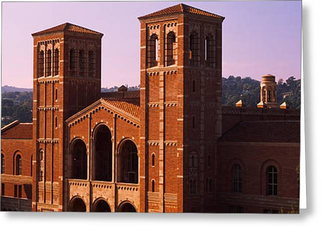 Royce Hall At The Campus Of University Greeting Card by Panoramic Images