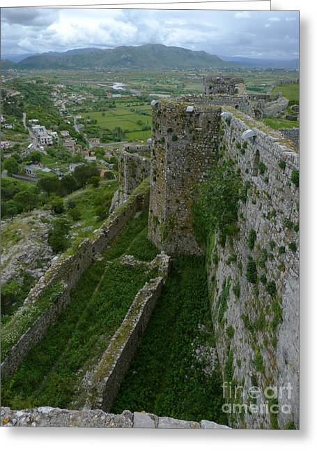 Rozafa Castle - Albania Greeting Card