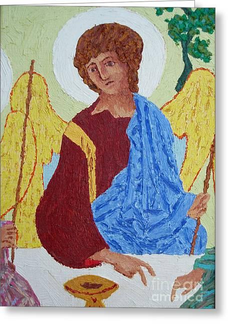Rublev Angel Greeting Card