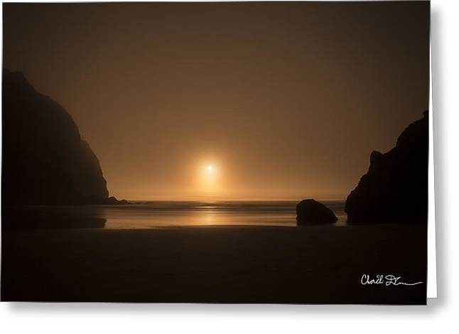Ruby Beach Sunset Greeting Card