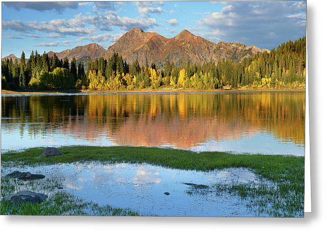 Ruby Range From Lost Lake Slough Greeting Card