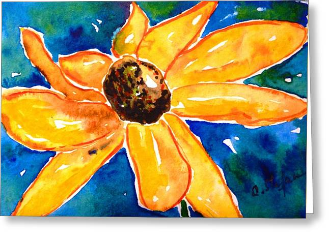 Rudbeckia - Black Eyed Susan - Flower Greeting Card