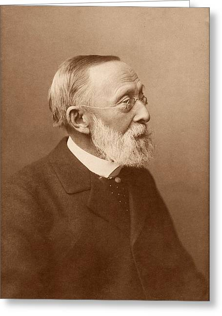 Rudolf Virchow Greeting Card by American Philosophical Society