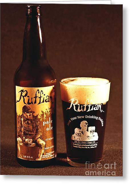 Ruffian Ale Greeting Card