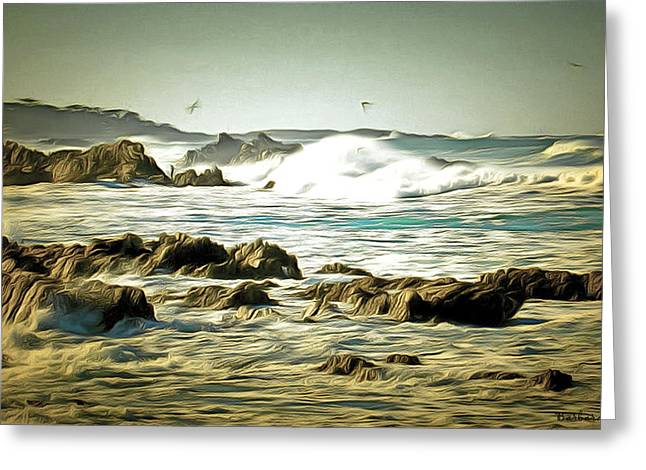 Rugged 17 Mile Drive Coastline Greeting Card
