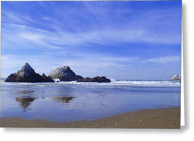 Rugged Reflections Greeting Card