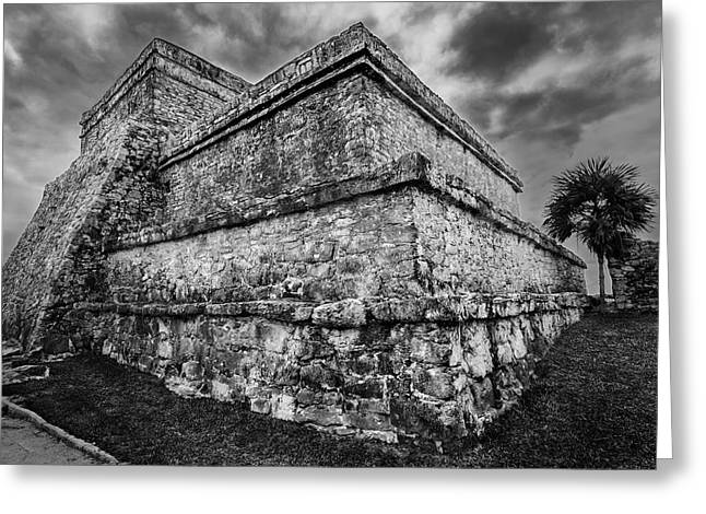 Ruin At Tulum Greeting Card