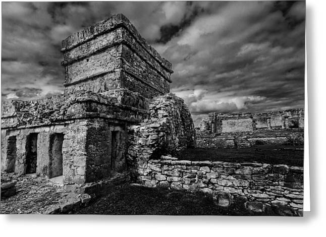 Ruin Greeting Card by Julian Cook