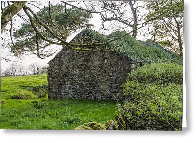Ruined Irish Cottage Greeting Card