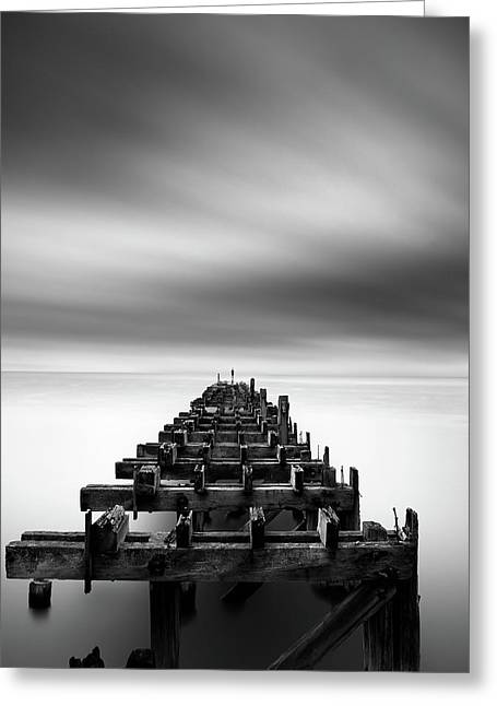 Ruined Pier Greeting Card