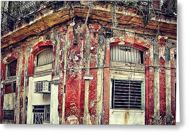 Ruins - Havana once Upon A Time Greeting Card