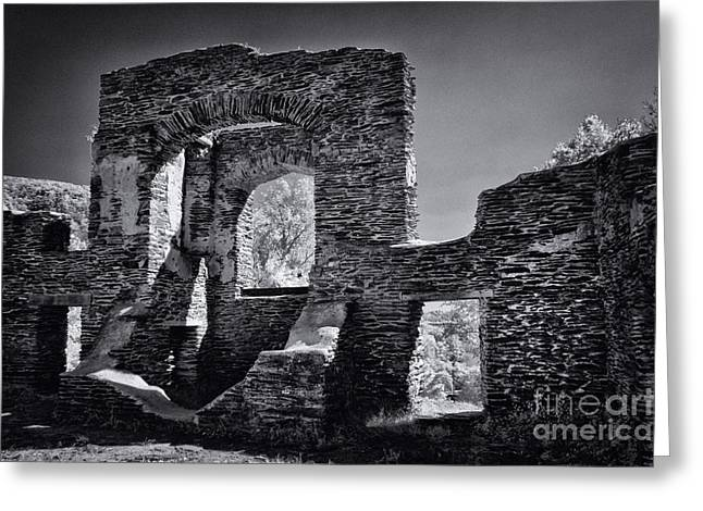Ruins - 609 Greeting Card by Paul W Faust -  Impressions of Light