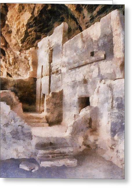 Ruins Greeting Card