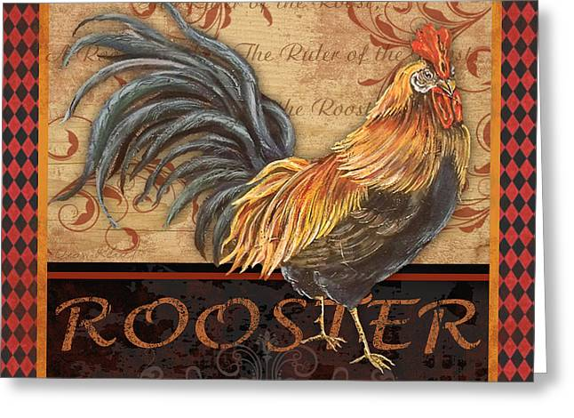 Ruler Of The Roost-1 Greeting Card