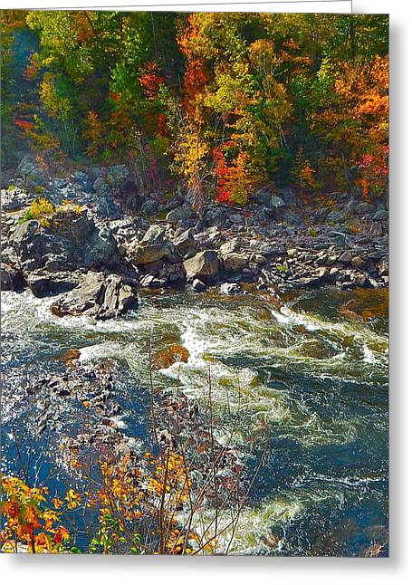 Rumford Falls 15 Greeting Card