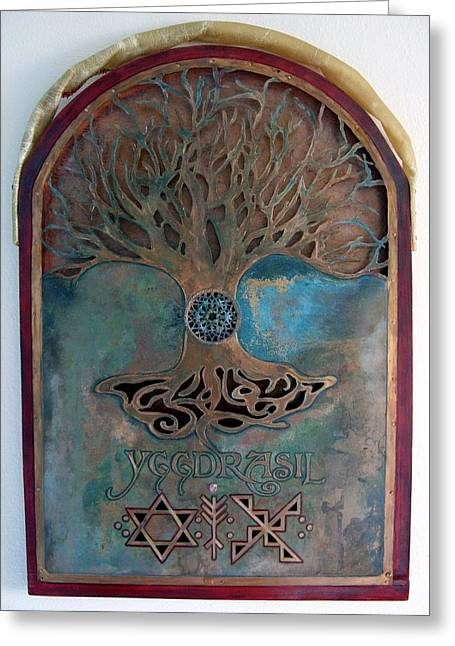 Runes For Restoration Greeting Card