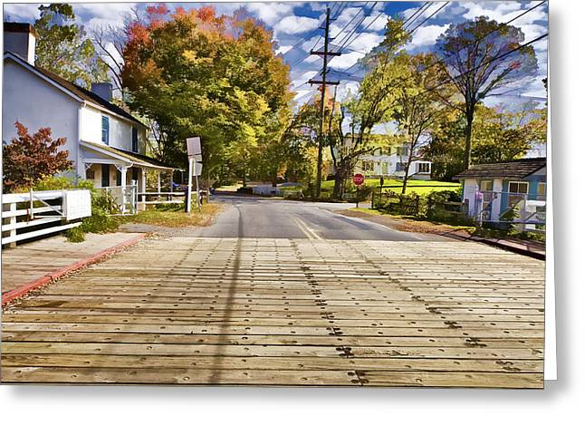 Rural America Greeting Card by David Letts