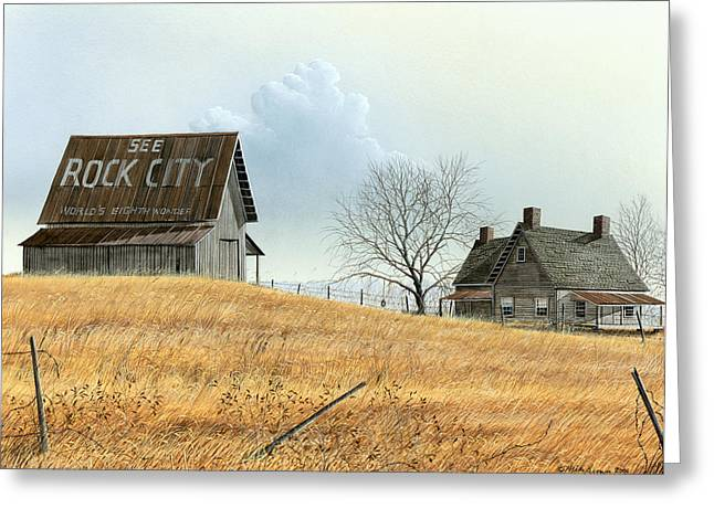 Rural America Greeting Card