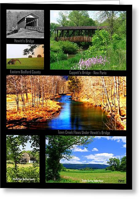 Rural Bedford County Greeting Card by Mary Beth Landis