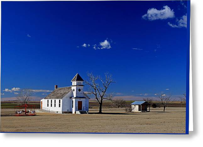 Rural Church Greeting Card by Christopher McKenzie