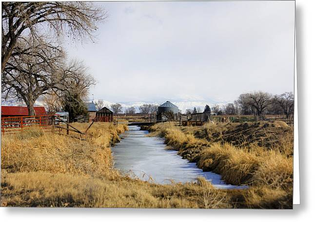 Rural Colorado Greeting Card