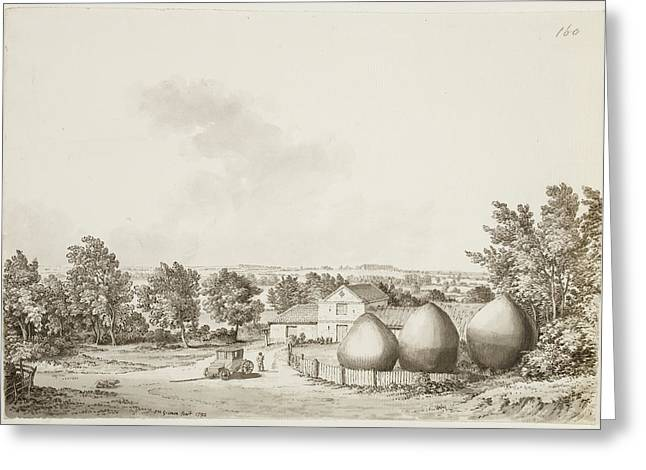 Rural Landscape Greeting Card by British Library