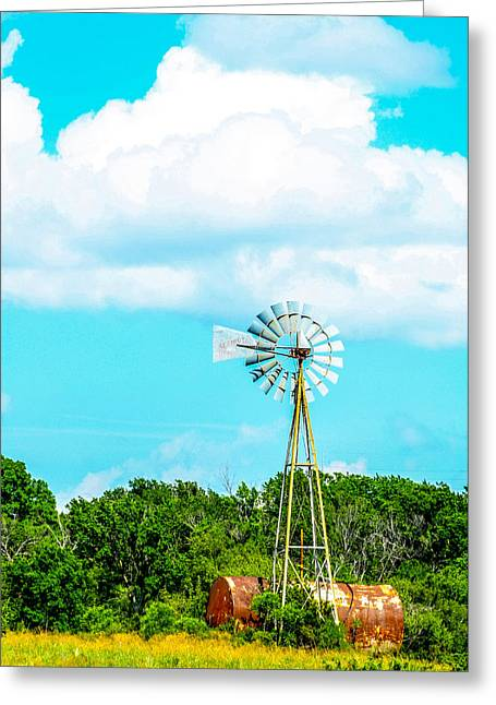 Rural Texas Greeting Card