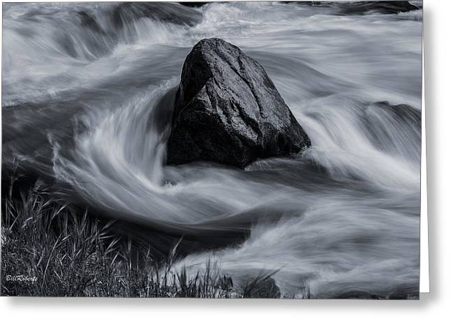 Merced River Greeting Card by Bill Roberts