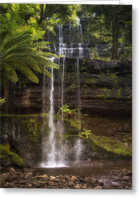 Russell Falls Greeting Card