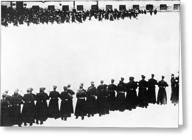 Russia Bloody Sunday, 1905 Greeting Card by Granger