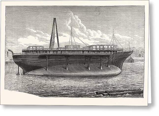 Russian Imperial Steam-yacht Livadia Greeting Card