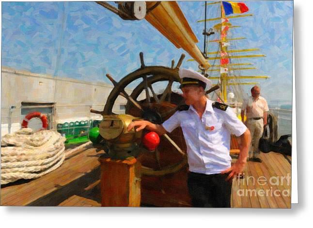 Russian Sailor Greeting Card