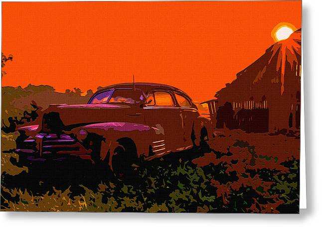 Rust In Peace 4 Greeting Card by Brian Stevens