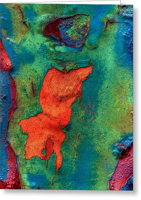 Greeting Card featuring the photograph Rust Is Beautiful by Jerry Gammon