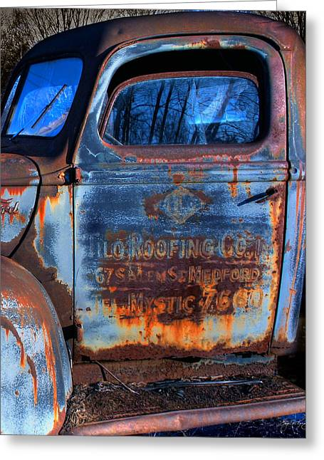 Rust Never Sleeps Greeting Card by Wayne King