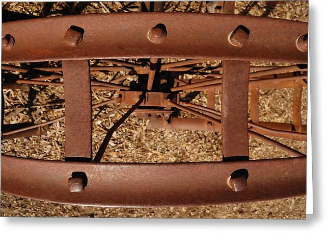 Rusted Deception Greeting Card by Steven Milner