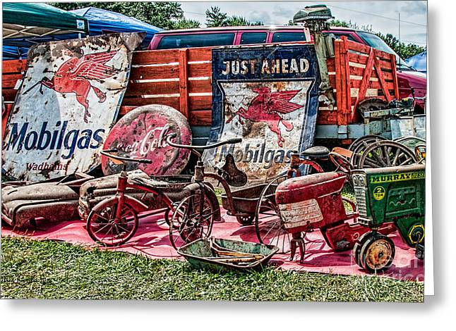 Rusted Memories Greeting Card