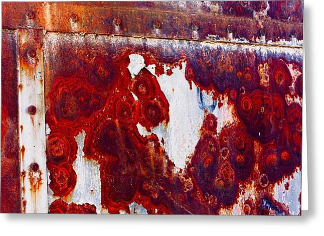 Rusted Metal Greeting Card by Craig Brown