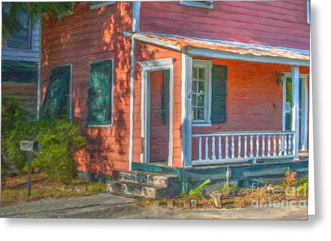 Rusted Tin Roof Greeting Card