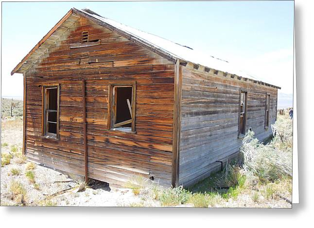 Rustic Abandoned History Greeting Card