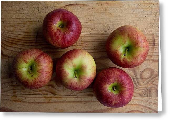 Rustic Apples Greeting Card