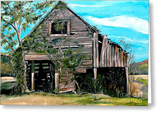 Rustic Barn - Mooresburg - Tennessee Greeting Card