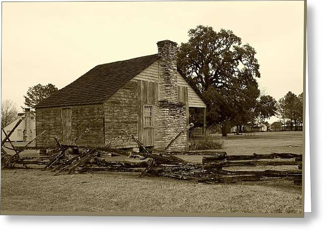 Greeting Card featuring the photograph Rustic Building by Ellen O'Reilly