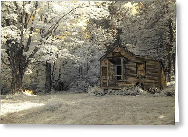 Rustic Cabin Greeting Card