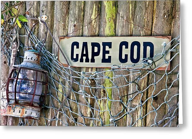 Rustic Cape Cod Greeting Card