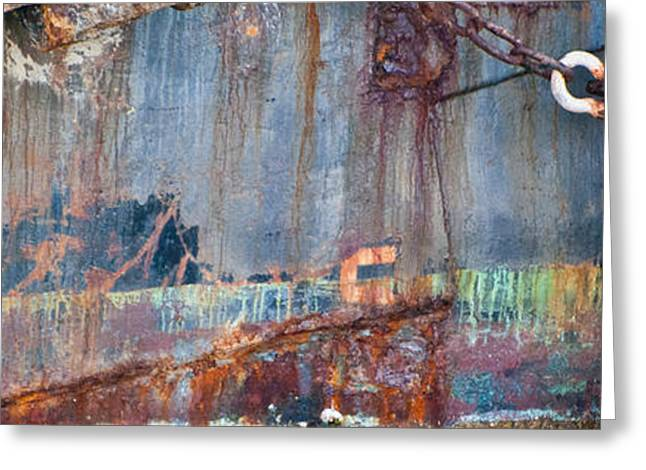 Rustic Hull 2 Greeting Card by Jani Freimann