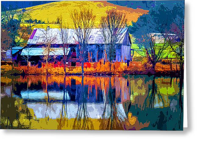 Rustic Reflections 2 Greeting Card